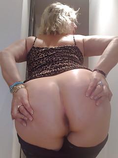 Grandma big ass anal