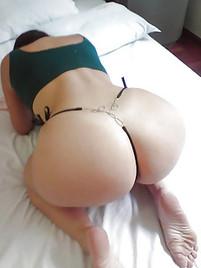 Big ass tight thong